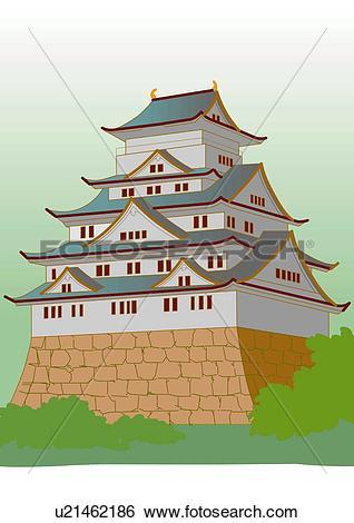 Japan castle Illustrations and Stock Art. 50 japan castle.