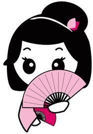 Japanese character clipart.