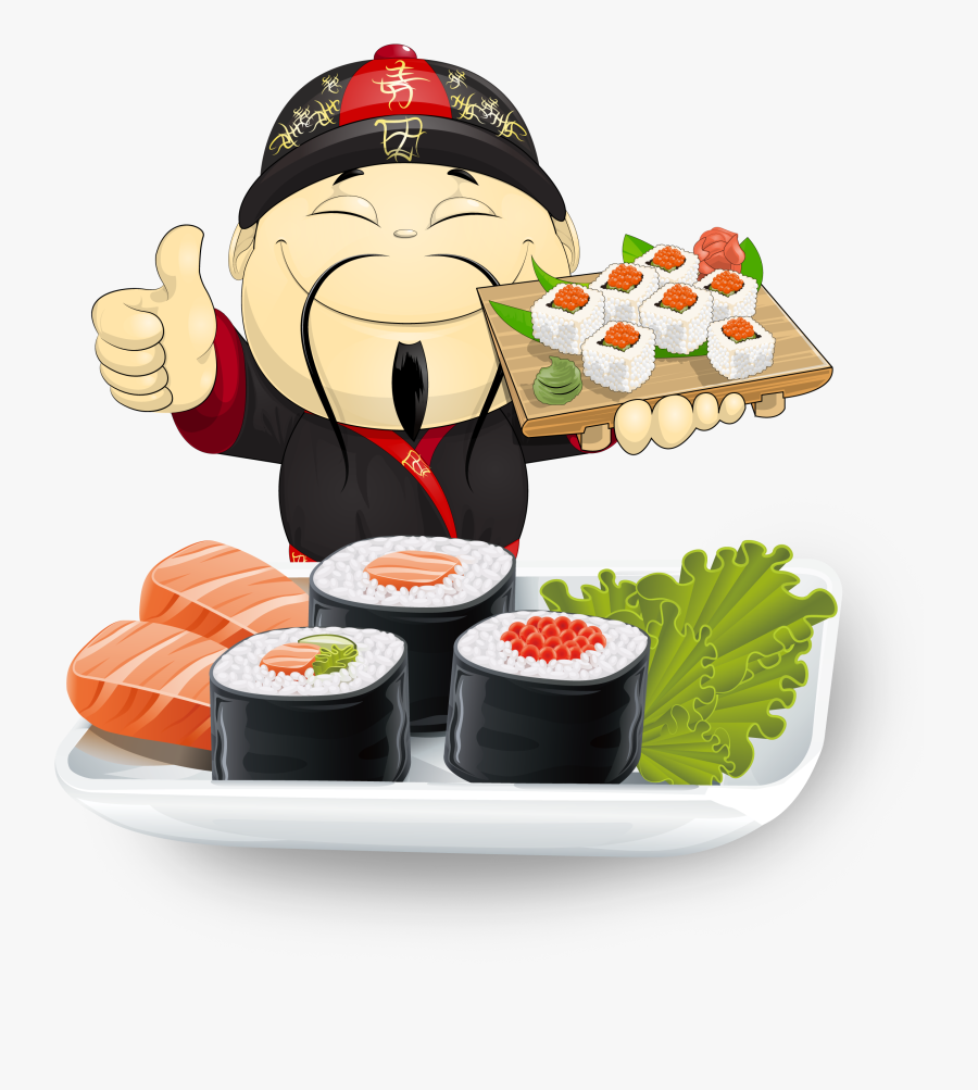 Japanese Food Clipart Smiley Face.