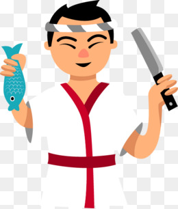 Download Free png Japanese Chef Png, Vectors, PSD, and.