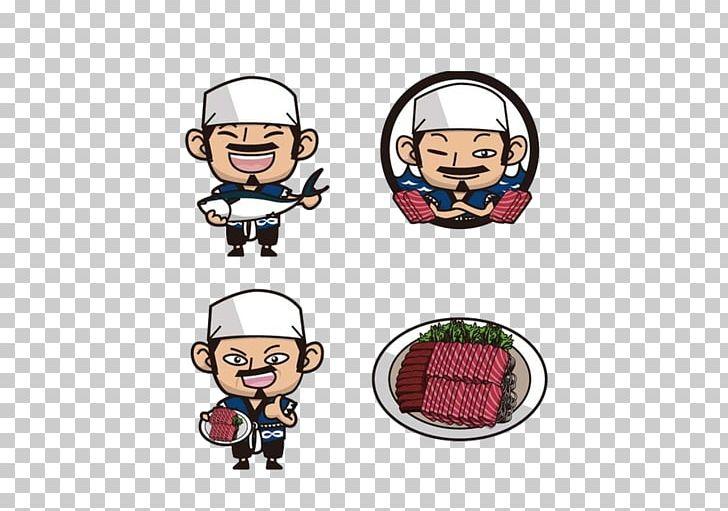 Japanese Cuisine Cartoon Book Illustration Illustration PNG.