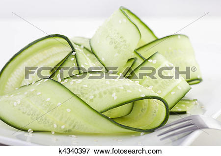 Picture of Japanese Cucumber Salad k4340397.