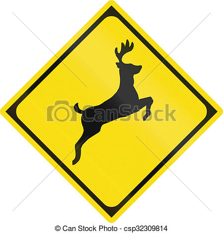 Stock Photography of Japanese road sign.