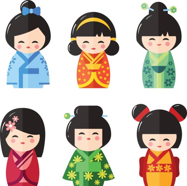 Top 60 Japanese Doll Clip Art, Vector Graphics and Illustrations.