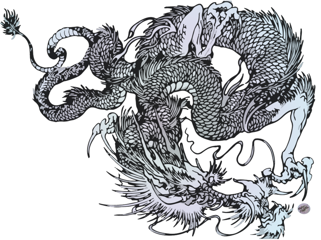 Download Japanese Dragon PNG Image.