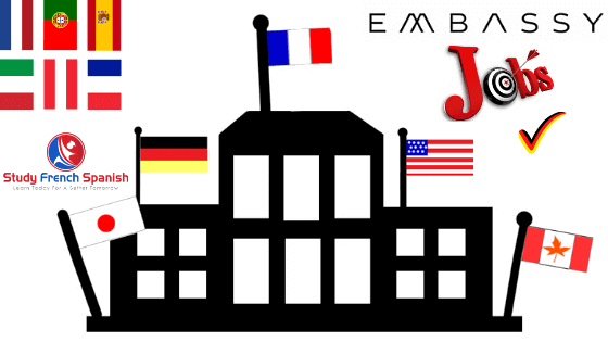 Language Jobs In Foreign Embassies and Indian embassy Abroad.