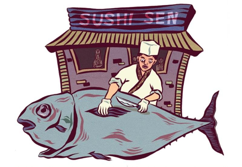 Dear Leader Dreams of Sushi.