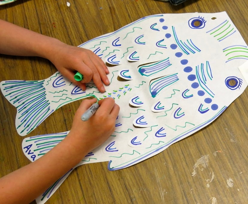 Japanese boys day fish clipart.