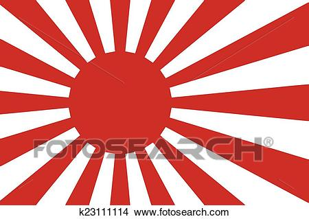 Japanese Flag Clipart.