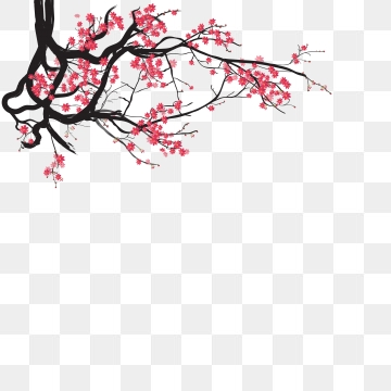 Japanese Flower PNG Images.