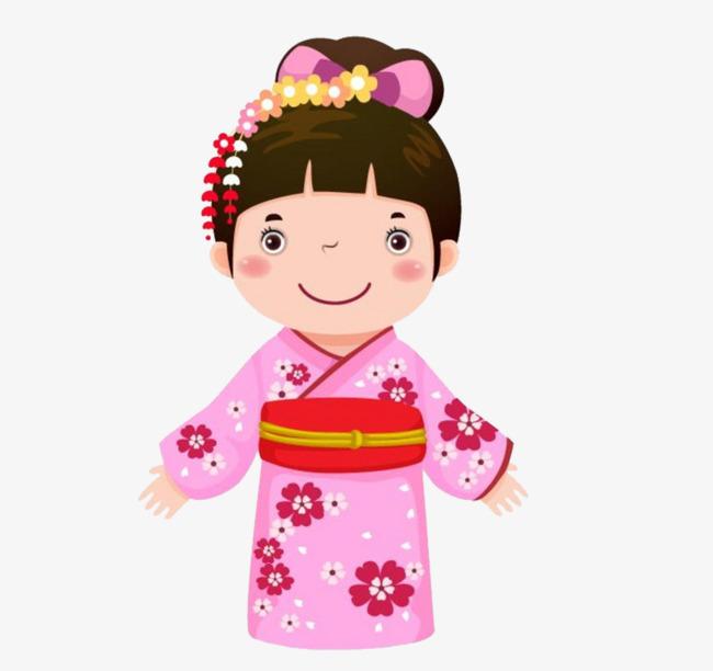 Japanese Woman, Woman Clipart, Kimono, Lov #491297.