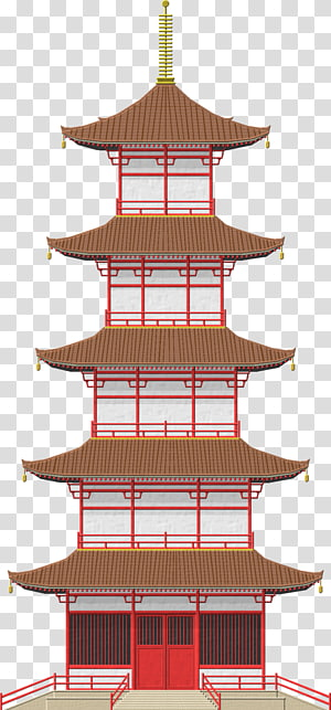 japanese house clipart #1