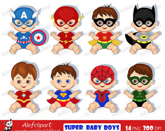 View Superhero by Alefclipart on Etsy.