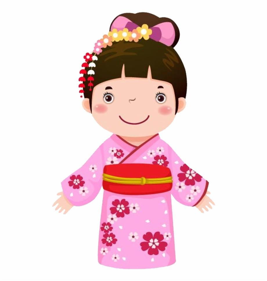 Japan Clipart Clothing Japanese.