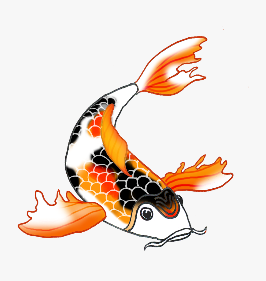 Koi Fish Clipart Japanese.
