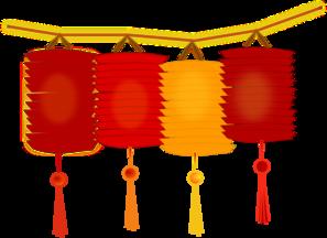 Japanese Lantern Clipart.