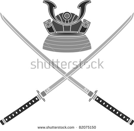 Samurai Sword Stock Images, Royalty.