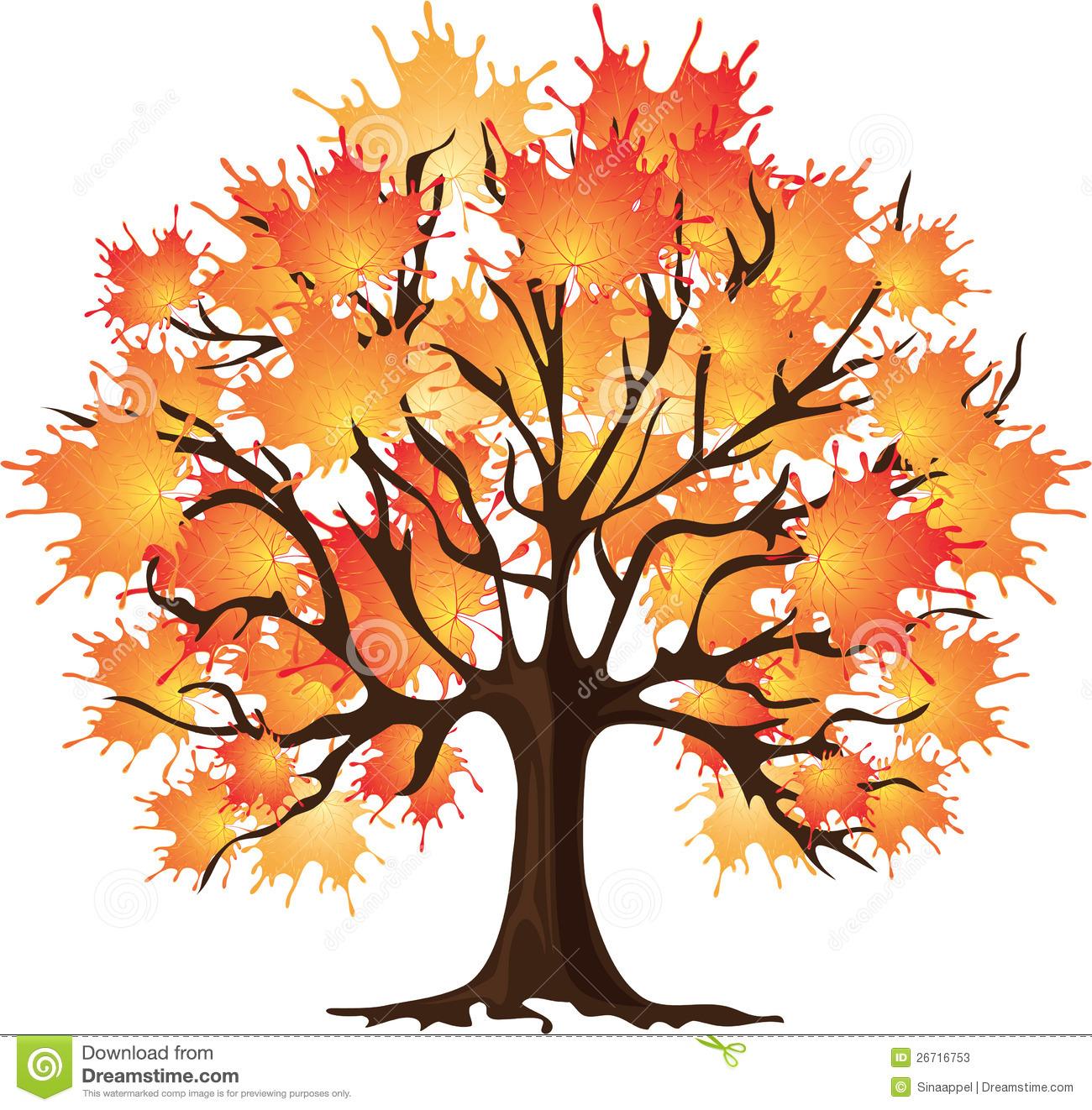Clipart sugar maple tree.