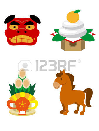 182 Japanese New Year S Card Stock Illustrations, Cliparts And.