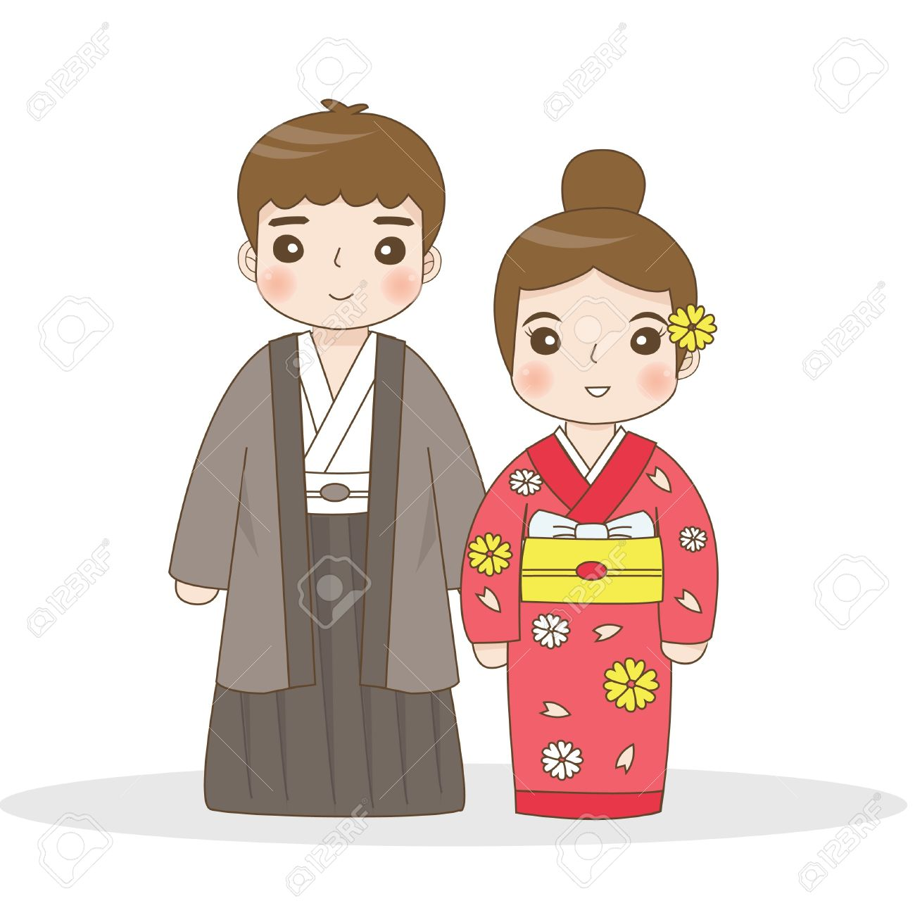 Japanese traditional dress.