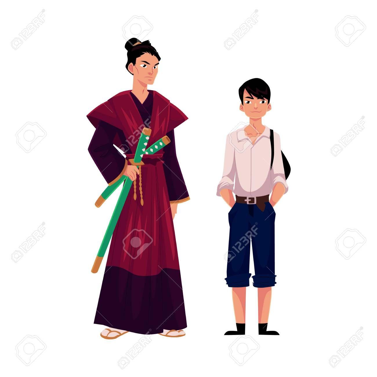Samurai Clipart japanese history 2.
