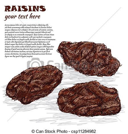 Raisin Illustrations and Clipart. 351 Raisin royalty free.