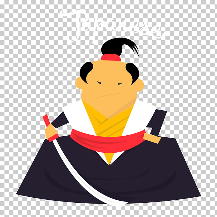 Japan Samurai , Samurai PNG clipart.