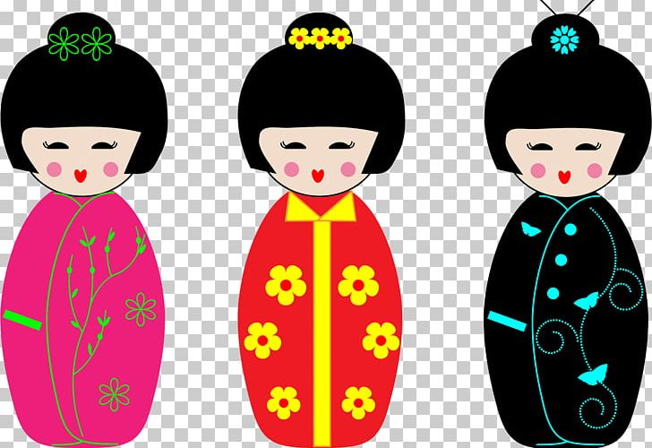 Japanese Dolls Kokeshi Japanese Language PNG, Clipart, Black.