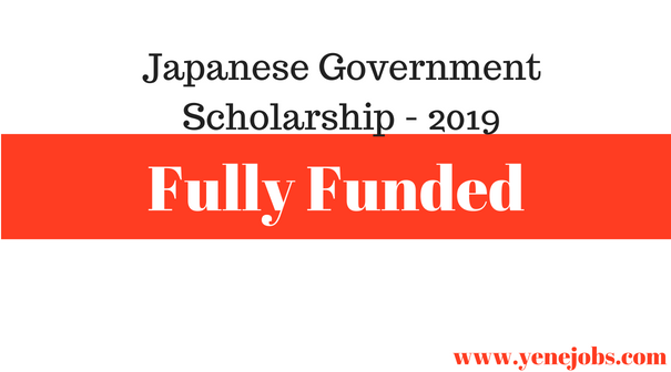 Japanese Fully Funded Scholarships for East Africans.