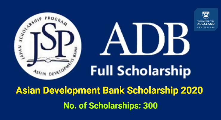 Asian Development Bank Scholarship 2020 [Fully Funded] in New.