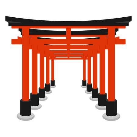 570 Shinto Shrine Stock Vector Illustration And Royalty Free Shinto.