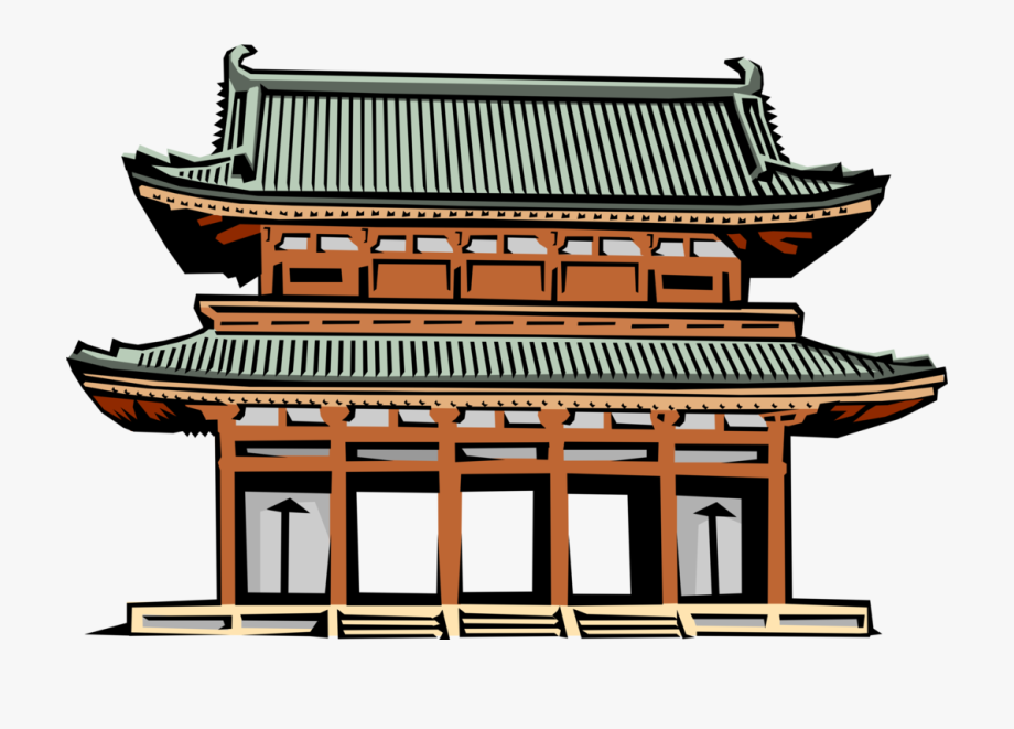Shrine Clipart Shinto Temple.