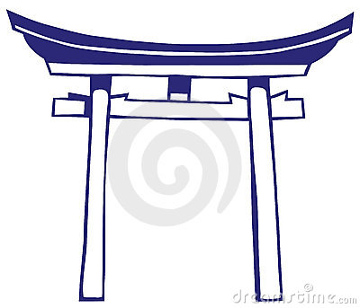 Shrines Stock Illustrations.