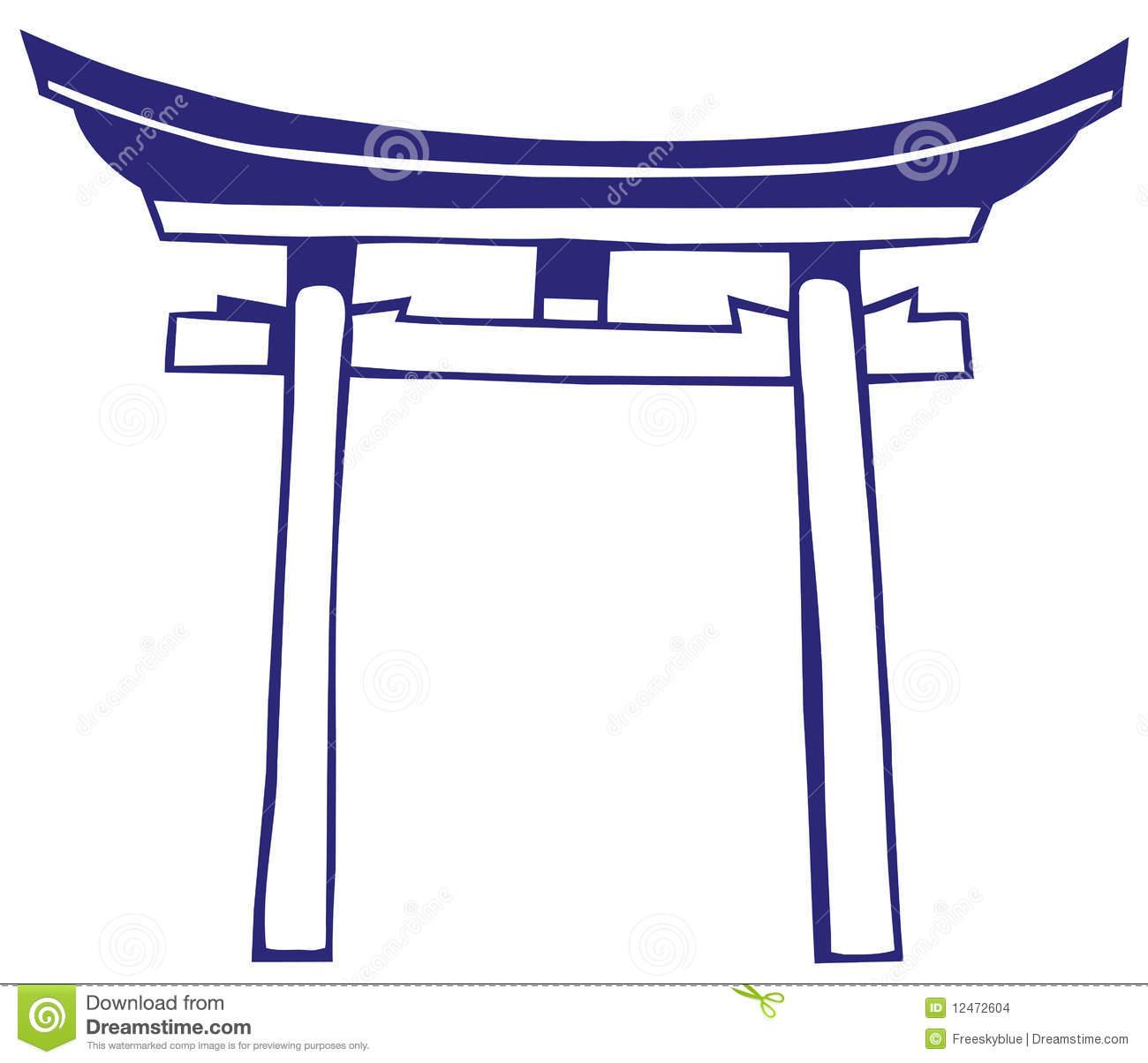Japan Shrine Stock Images.