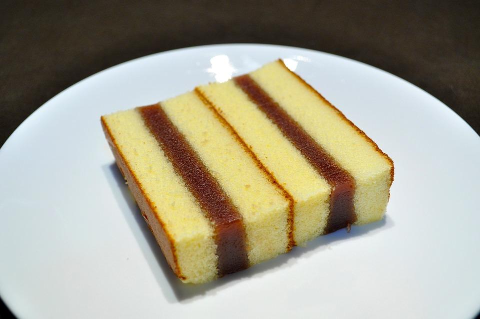 Sponge, Cake.