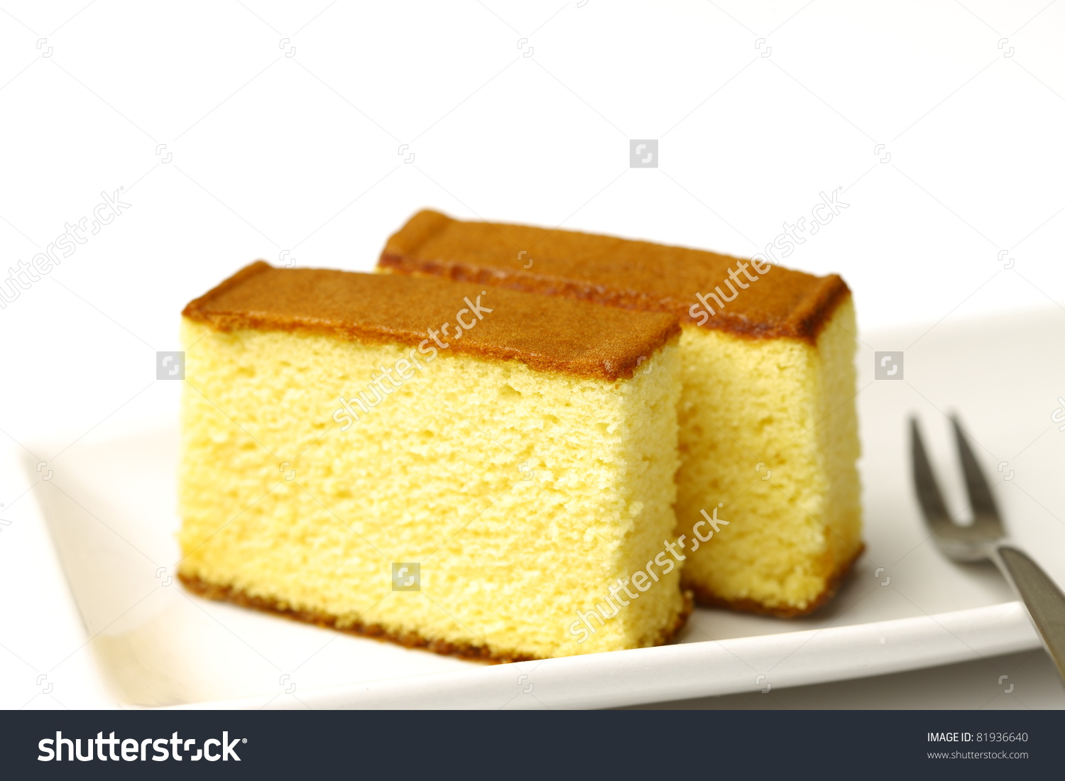 Japanese Sponge Cake,Castella Stock Photo 81936640 : Shutterstock.