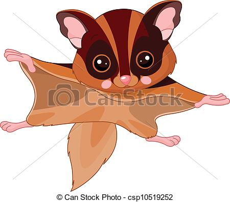 Flying squirrel Vector Clip Art EPS Images. 63 Flying squirrel.
