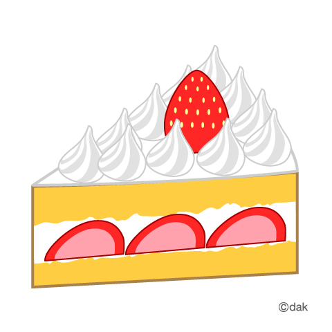 Japanese Strawberry Cake Clipart Clipground