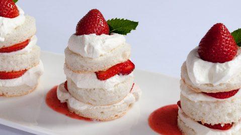 Japanese Strawberry Shortcake.