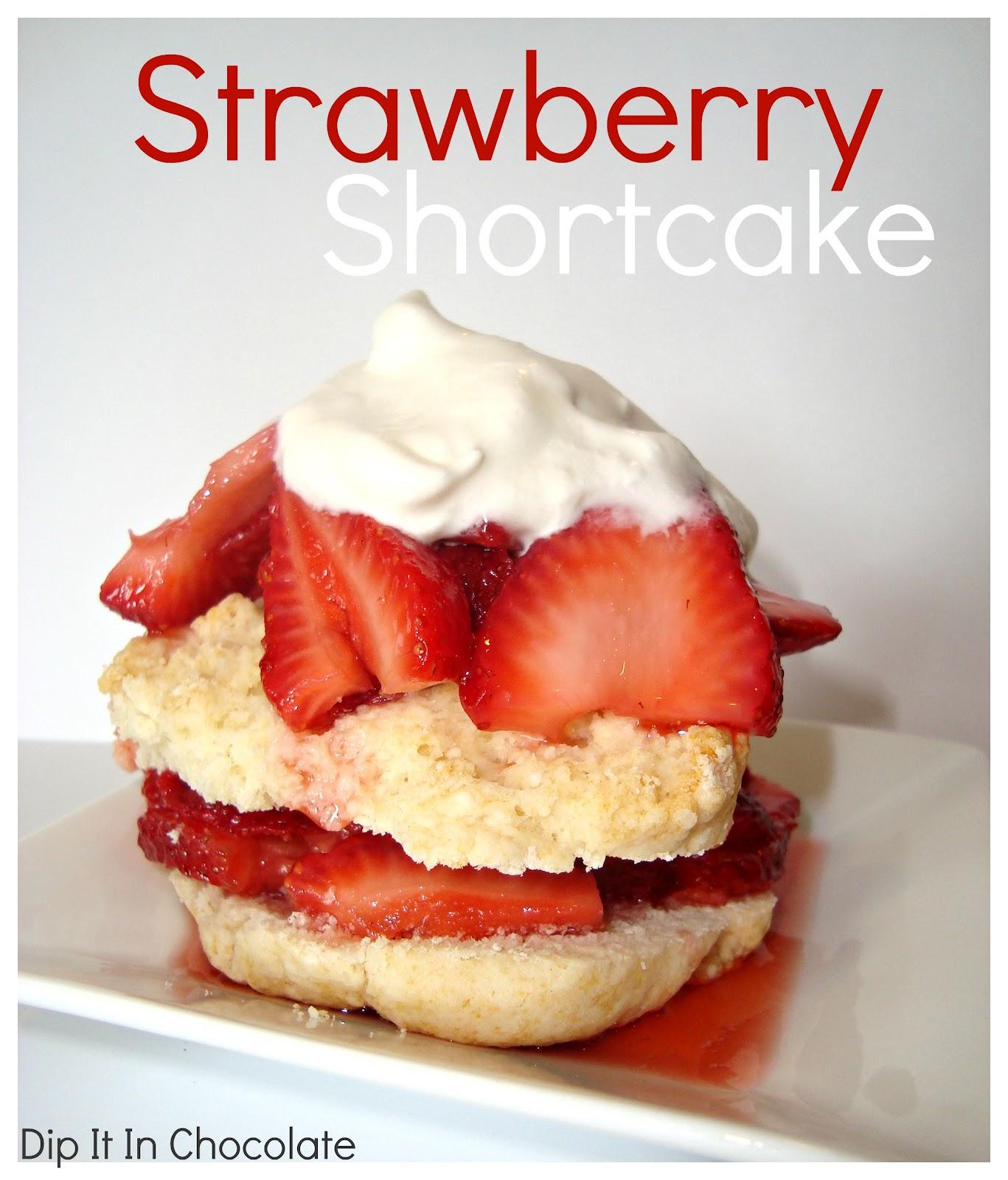 Food Network Strawberry Cake.