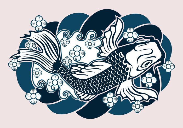 Japanese Tattoo Design.