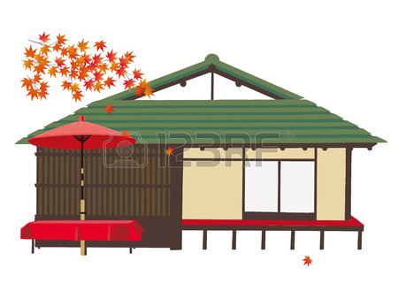 Japanese Tea House Royalty Free Cliparts, Vectors, And Stock.