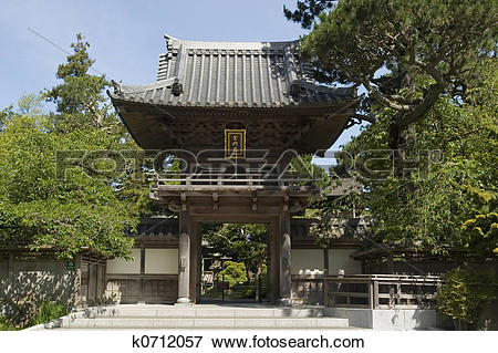 Picture of Japanese tea house k0712057.