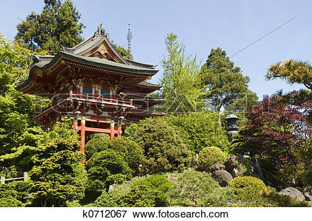Picture of Japanese tea house k0712067.