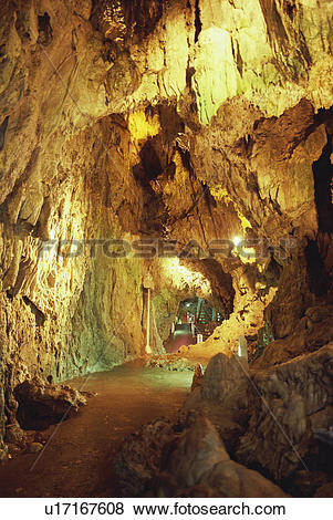 Pictures of Limestone cave in Iwate Prefecture, Japan u17167608.