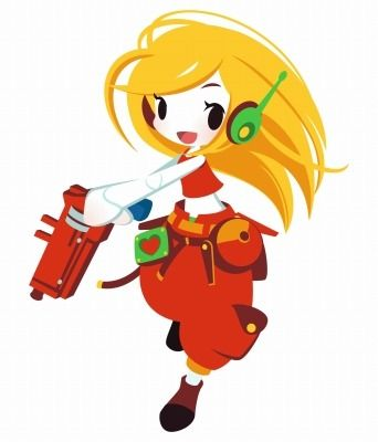 Curly Brace, from Cave Story/Promo for Cave Story 3D made by.