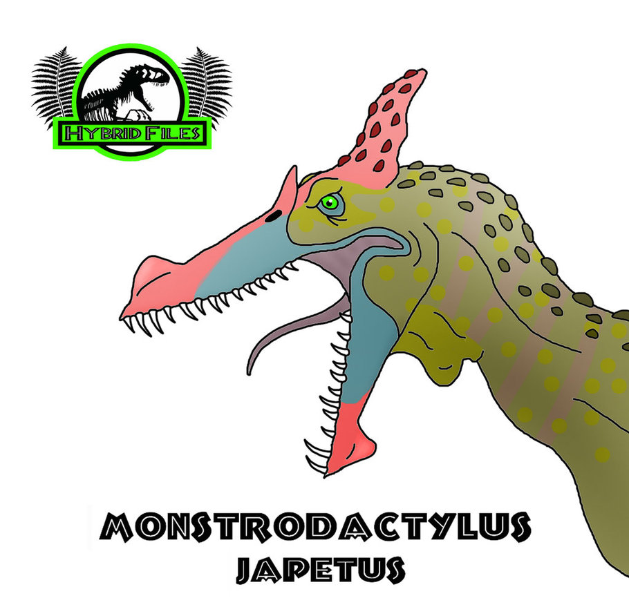 Hybrid Files: Monstrodactylus (updated) by PaleoCheckers on DeviantArt.