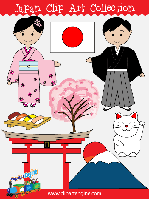Japanese clip art free.