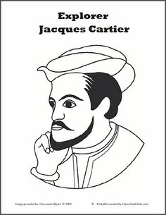 Jacques cartier water route clipart.