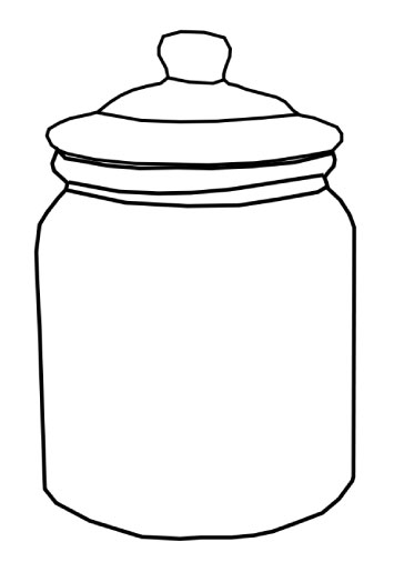 Free Jar Clip Art Black And White, Download Free Clip Art.